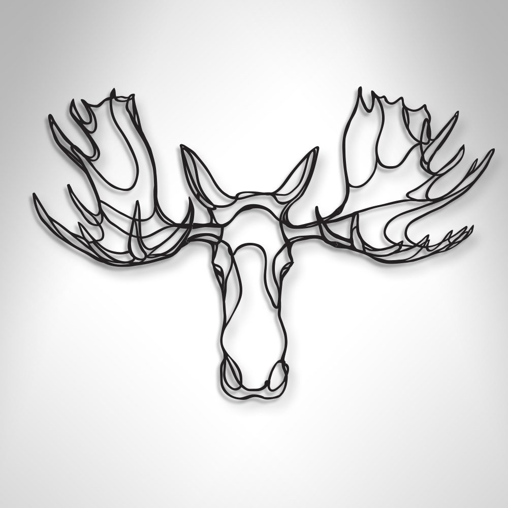 1000x1000 The Respectful Moose Trophy Wooden Sign Is A Sustainable Home