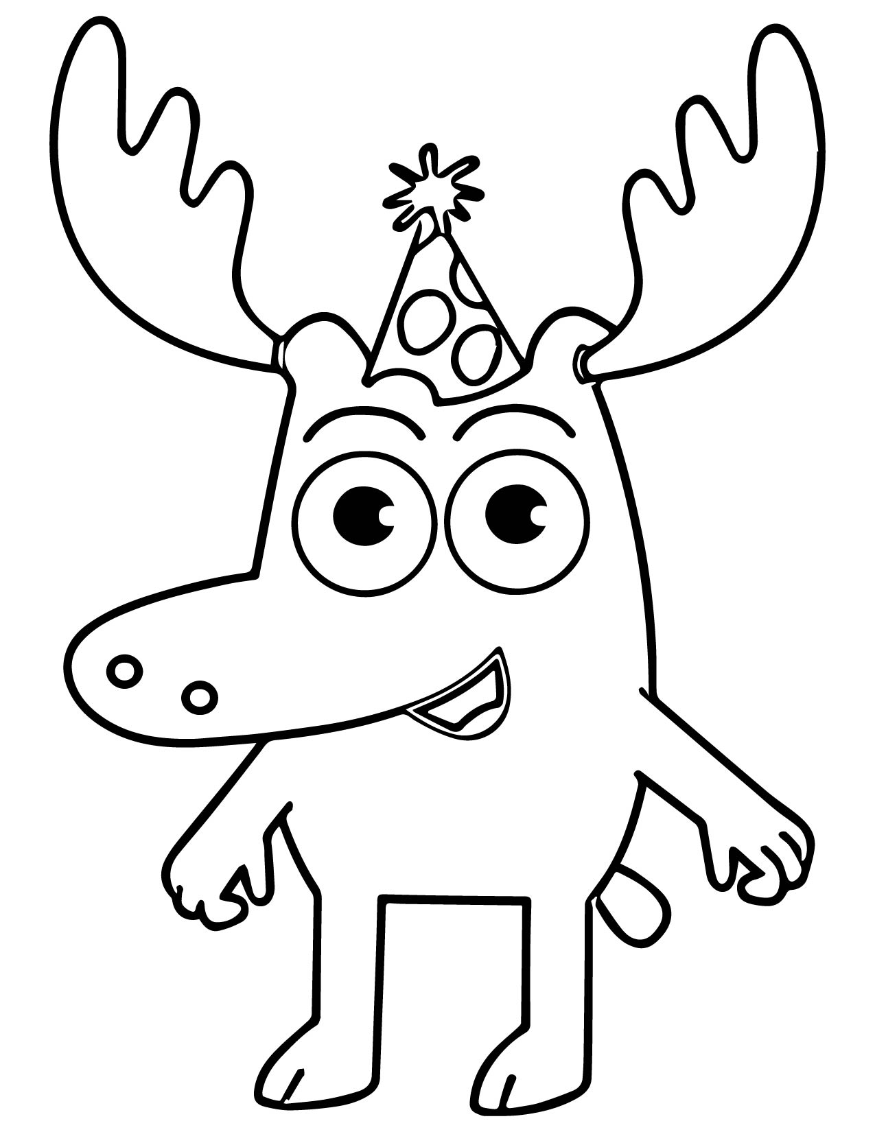 1275x1650 Moose And Zee Coloring Page Free Download