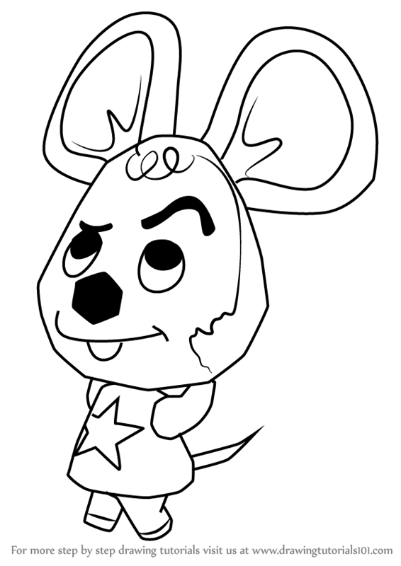 566x800 Learn How To Draw Moose From Animal Crossing (Animal Crossing
