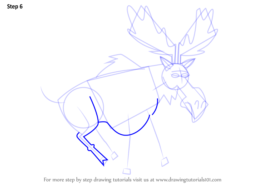 846x600 Learn How To Draw Moose From Total Drama (Total Drama) Step By