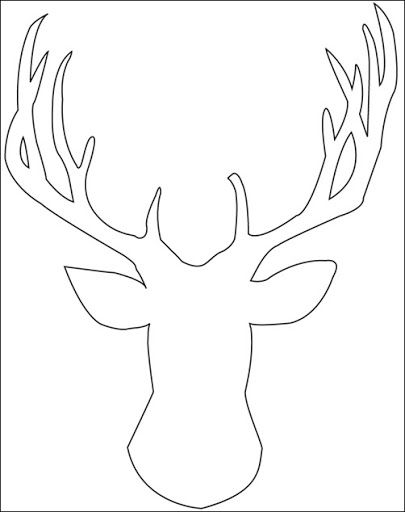 Moose Face Drawing