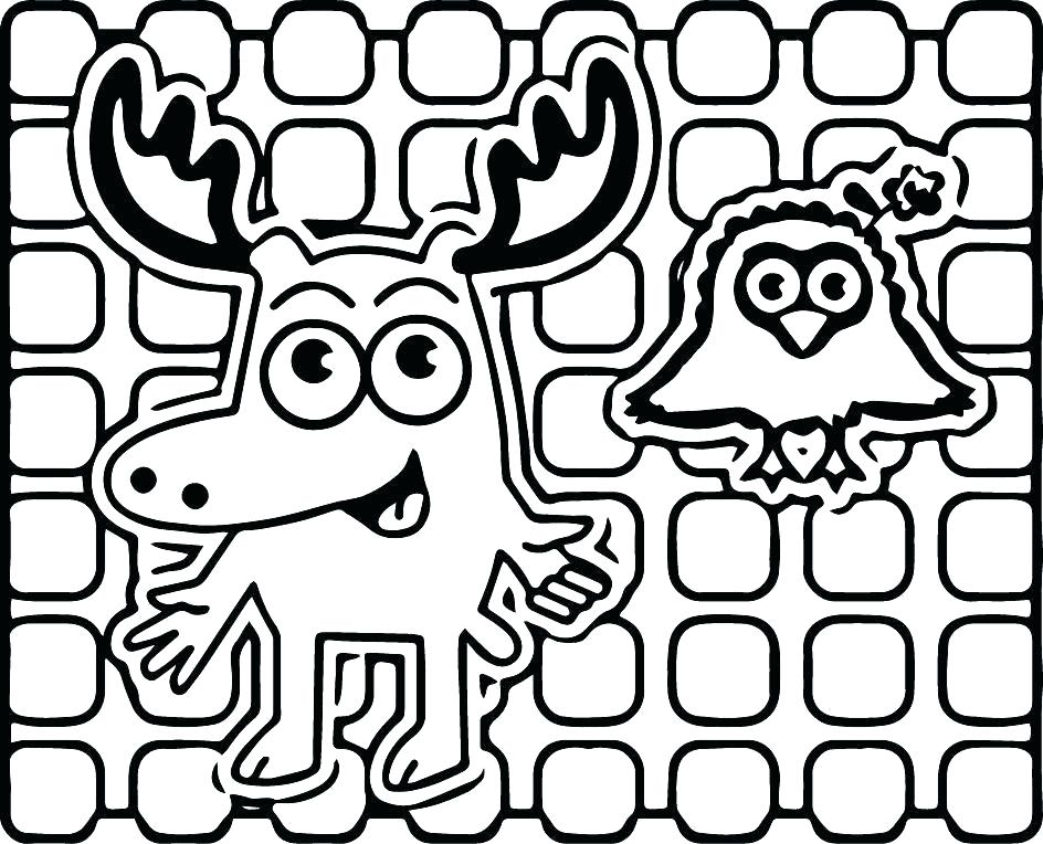944x764 Moose Coloring Pages Funny Moose Coloring Page Moose Face Coloring