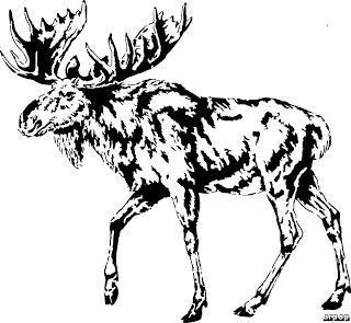 320x295 Free Scroll Saw Patterns By Arpop Moose Project Ideas