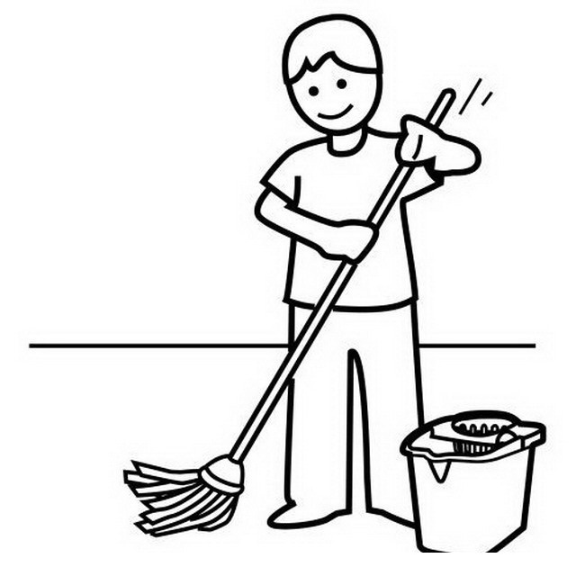 640x640 Child Mopping To Color Color Area