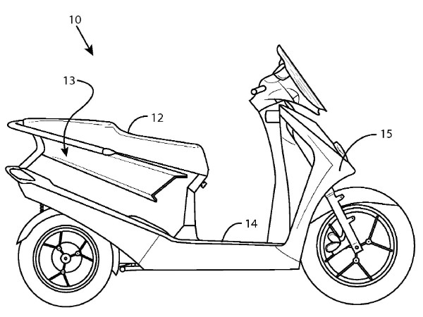 600x450 Erik Buell Gets Hybrid Scooter Patent A Hybrid Hero Bike