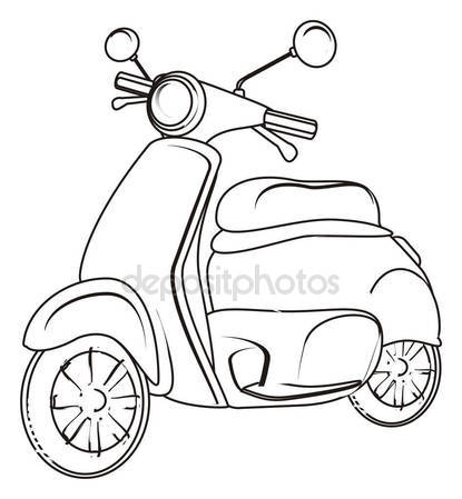 50cc Moped Honda