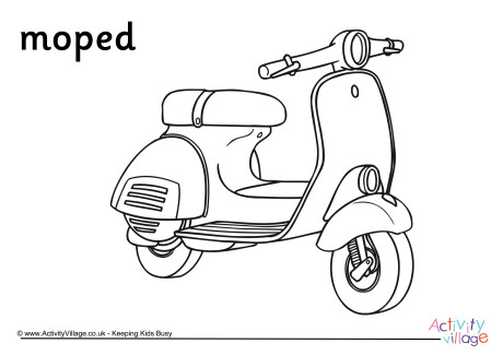 460x325 Colouring Page