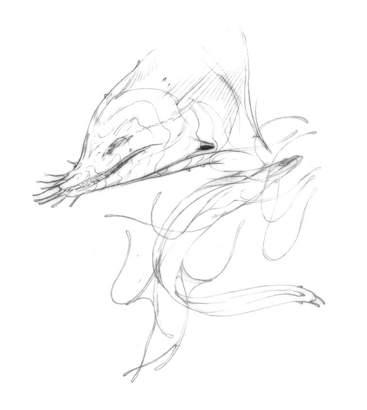 757x846 Moray Eel Alien By Jennadelle By Nonesane