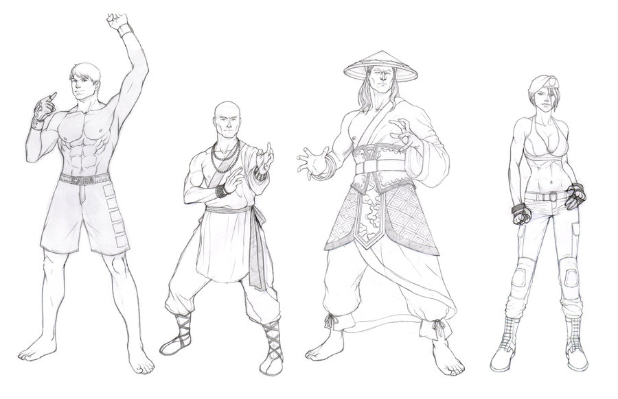 Mortal Kombat Drawing at GetDrawings.com | Free for personal use ...