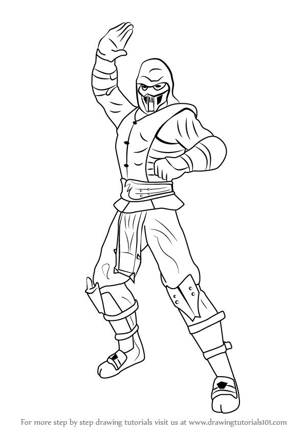 Nett Mortal Kombat Malvorlagen Skorpion Ideen - Beispiel ...