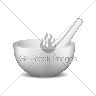 325x325 Golden Mortar And Pestle Gl Stock Images