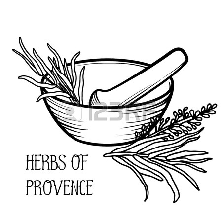 450x450 Mortar And Pestle Vintage Line Drawing Royalty Free Cliparts