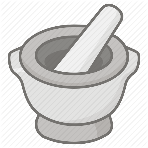 512x512 Bowl, Grinder, Grinding, Ground, Herb, Mortar, Pestle Icon Icon