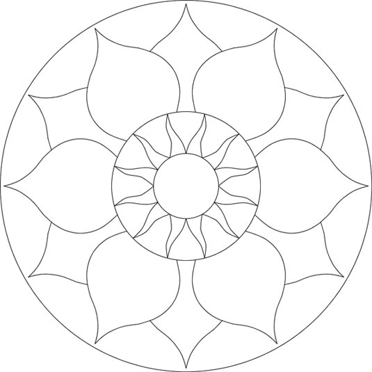 Mosaic drawing at free for personal use for Designs for mosaics templates