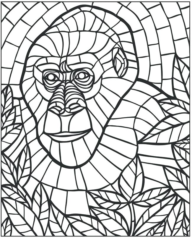 650x805 Mosaic Coloring Books Also Mosaic Coloring Pages Popular Mosaic