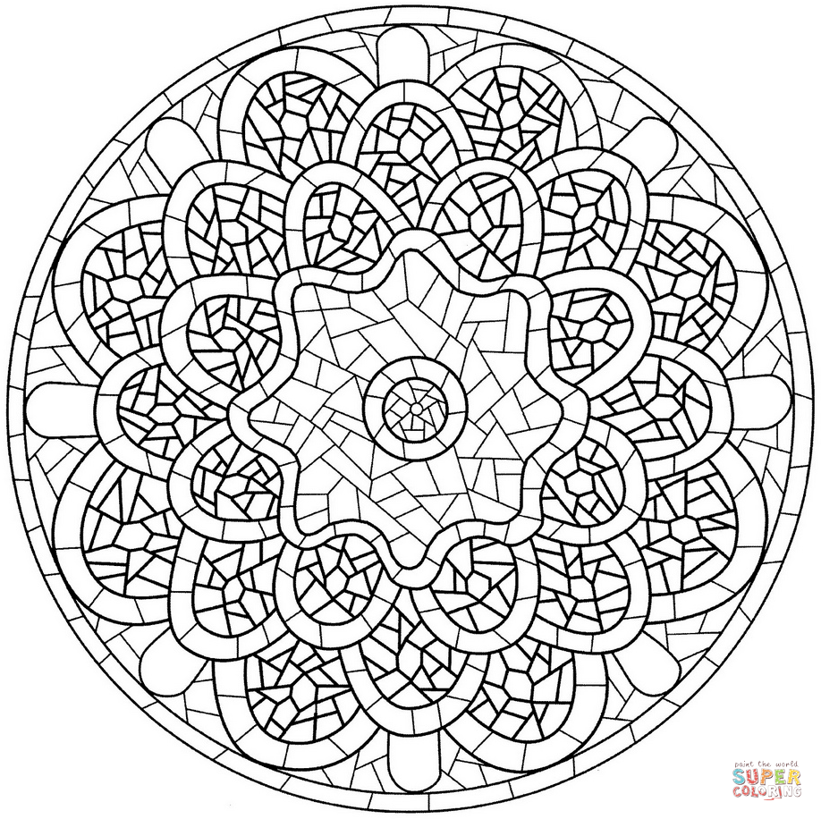 photo relating to Free Printable Mosaic Patterns known as Mosaic Drawing Styles at  Free of charge for