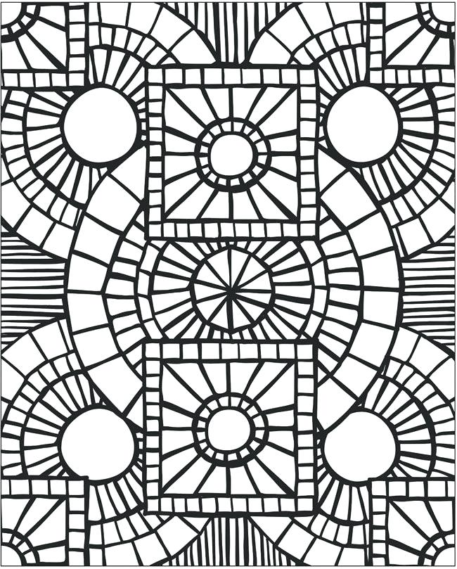 650x809 Mosaic Pictures To Color Mosaic Patterns Printable Mosaic Patterns