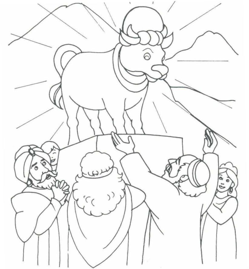 822x889 Moses Coloring Pages Moses Drawings