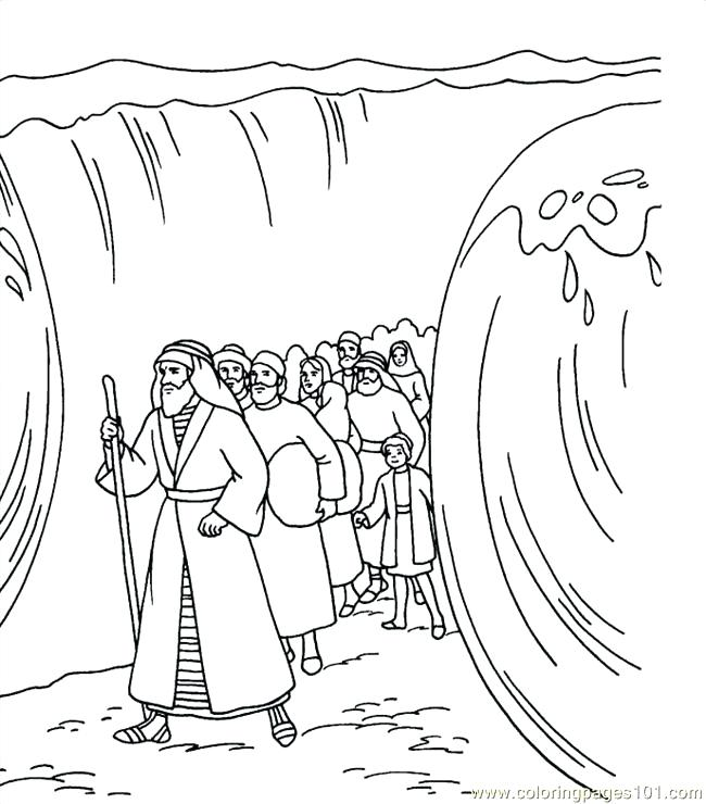 650x740 Moses Coloring Pages Coloring Pages Colouring To Snazzy Draw Page