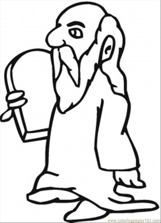 650x899 Moses Printable Coloring Pages Hubpages