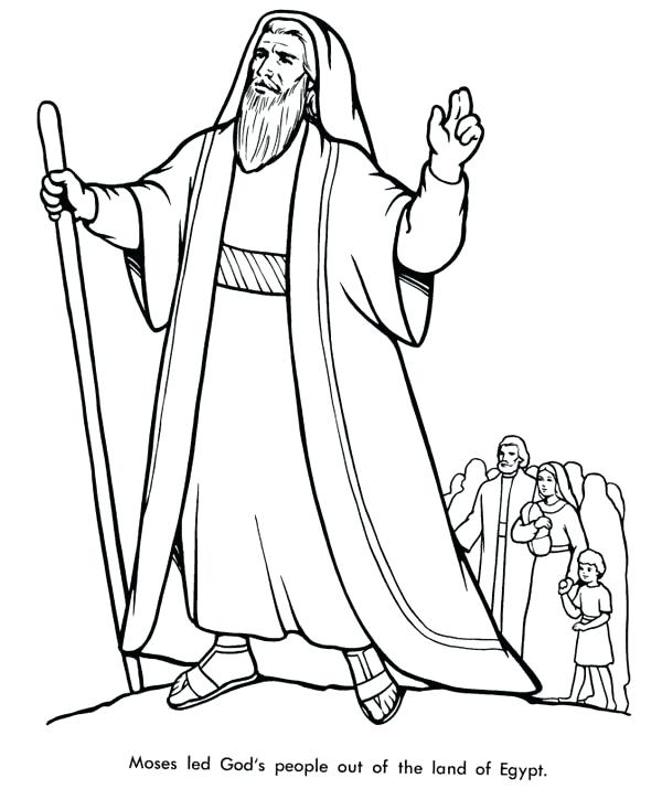 600x734 This Is Moses Coloring Pages Pictures About To Divide Red Sea