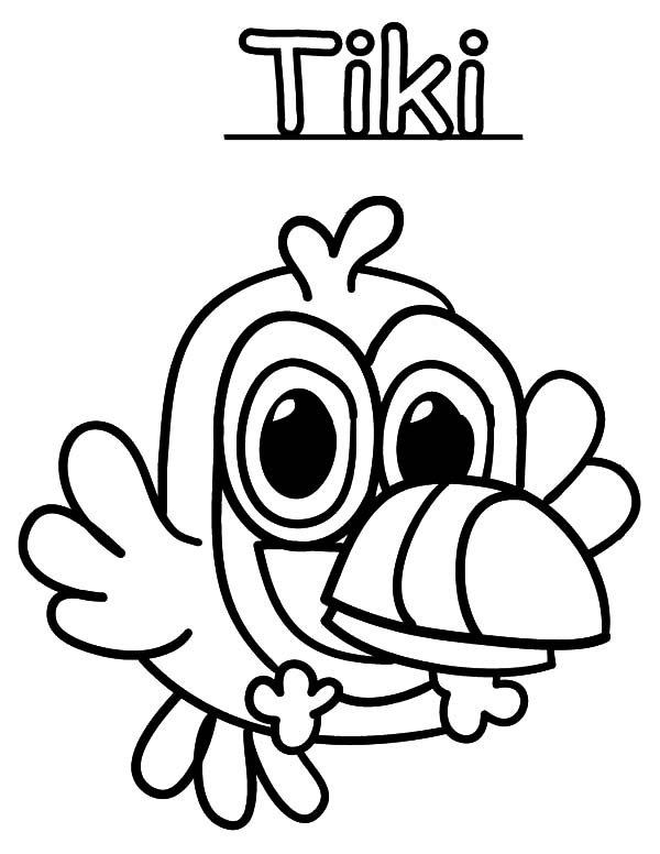600x776 How To Draw Moshi Monster Coloring Pages Color Luna