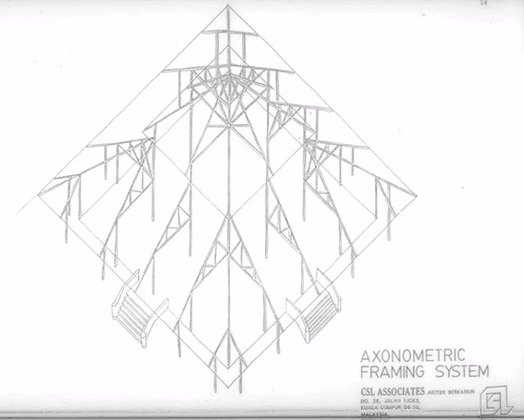 524x420 Timber Modular Mosque Bampw Drawing, Elevation Of The Type C