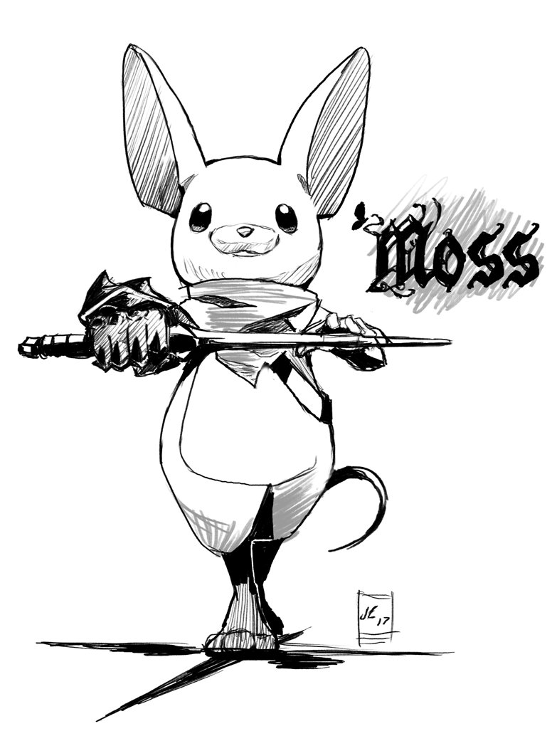 776x1034 Overlord Jc On Twitter Ended Up Drawing The Adorable Mouse