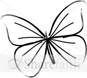 300x269 The Best Butterfly Line Drawing Ideas On Paisley