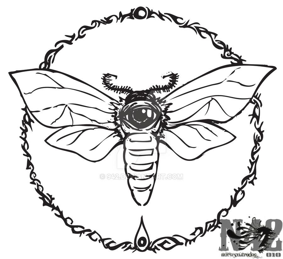 900x823 Caronte Moth By 942
