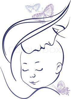 236x327 Gallery Mother And Baby Sketch,