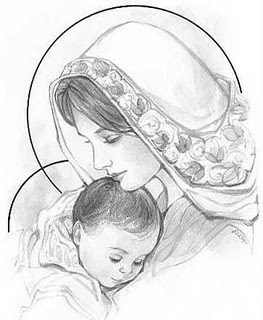 263x320 Gallery Mother And Baby Sketches,