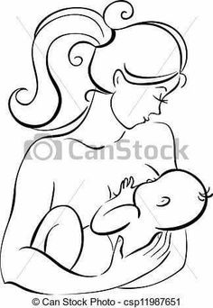 236x342 Stock Vector Mother Silhouette With Baby Something Like This