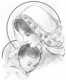 263x320 Gallery Mom And Baby Sketch,