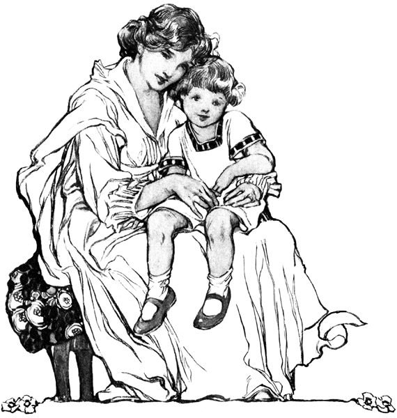570x600 Mother And Child Pictures