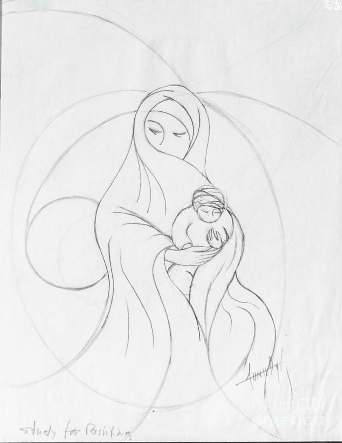695x900 Muslim Mother And Child
