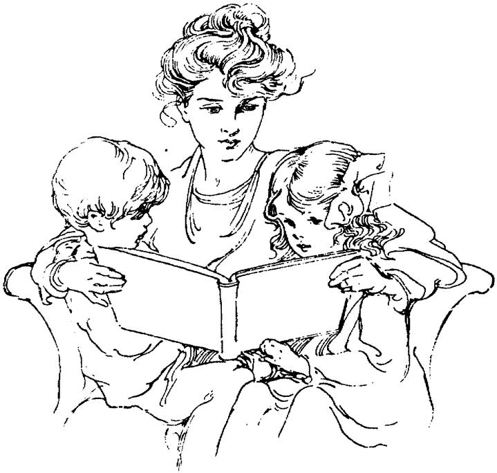 719x684 Reading To Babes, Part I Happy Time The Other Day