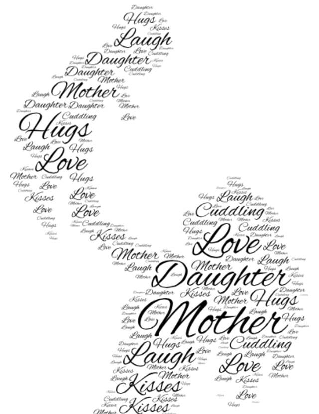 640x830 Mother Daughter Love Digital Art By Madison Capen