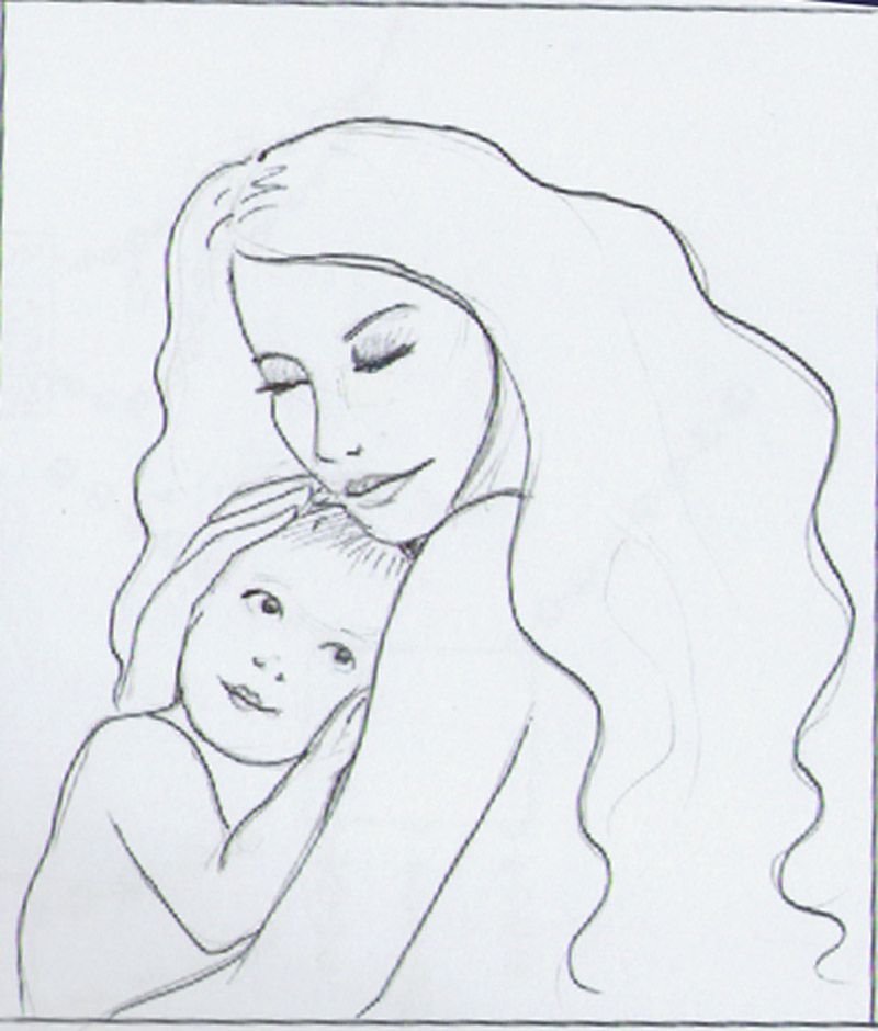 800x940 Motherdaughter Drawings Crafthubs