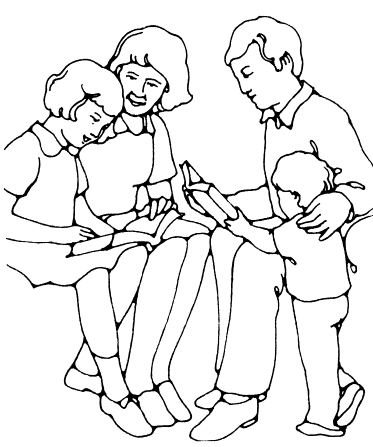 373x447 Family Scripture Reading