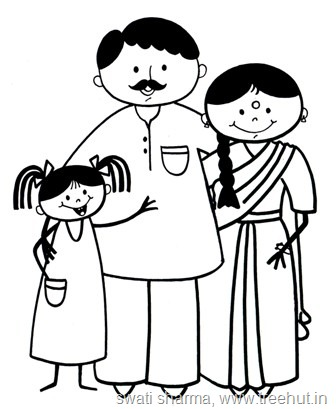 Mother And Father Drawing At Getdrawings Com Free For Personal Use