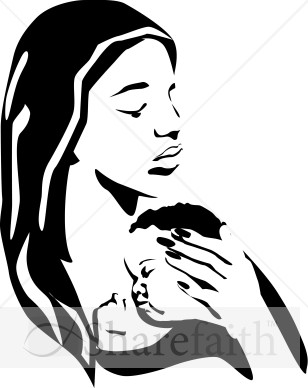 308x388 Mother And Baby Clipart Woman Child