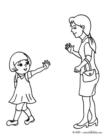 364x470 Mother Leaving Her Daughter
