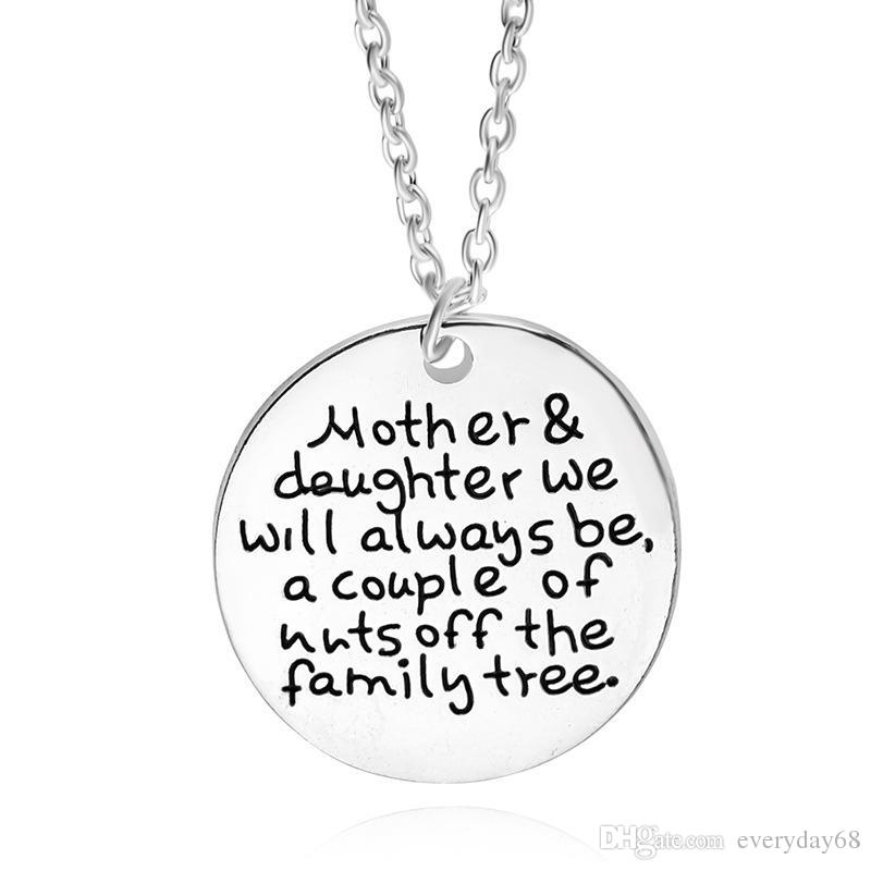800x800 Wholesale 2017 Personalised Mother Daughter Necklacemother