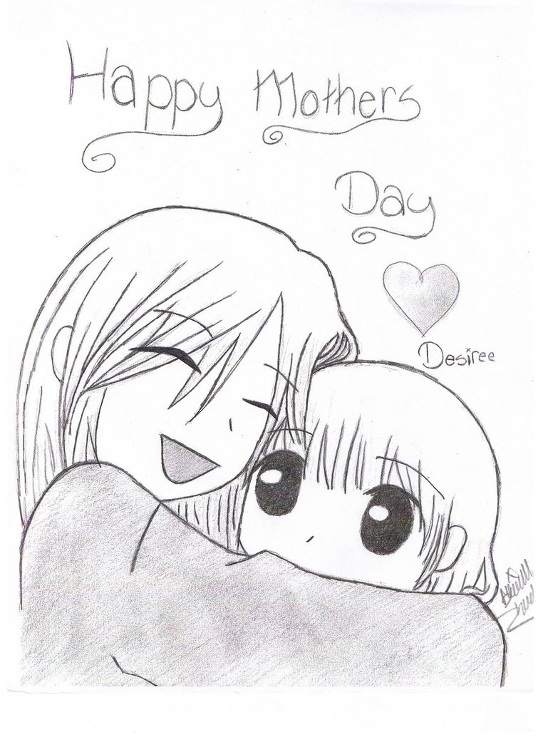 762x1048 Mothers Day Card By Goth Panda