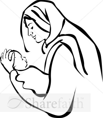 341x388 Mother And Baby Drawing Clipart Panda