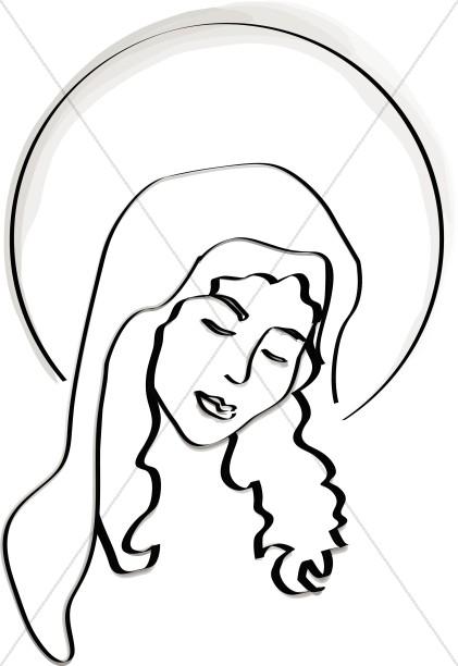 421x612 Radiant Mary