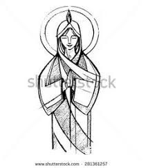 207x243 46 Best Virgin Mary Images On Character Design
