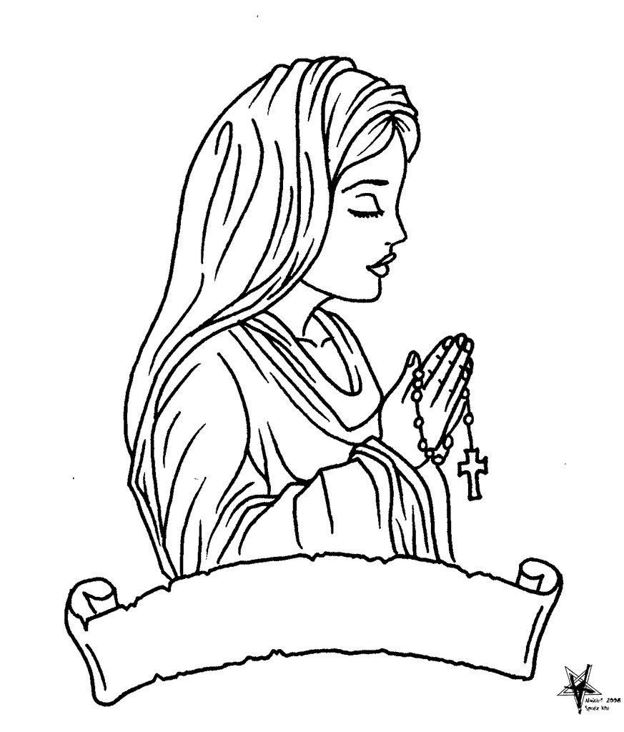 873x1024 Virgin Mary Outline Car Pictures Car Tuning Mary Tattoo Outlines