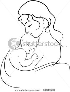 236x309 Gallery Simple Pencil Sketches Of Mother And Her Baby,